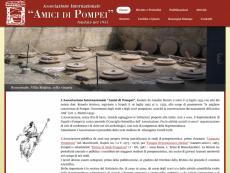 Homepage Amici di Pompei