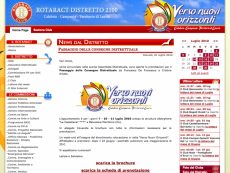 Homepage Rotaract Distretto 2100