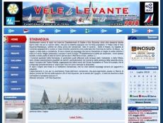 Homepage Vele di Levante - 2009